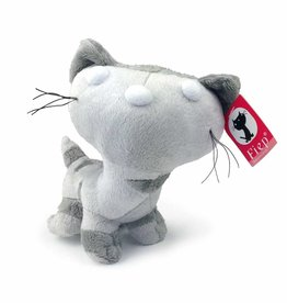 Pim en Pom knuffel - Pim (grijs)