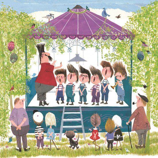 Puzzelman Fiep Westendorp Mini Puzzle 'Choir' (210 pcs)