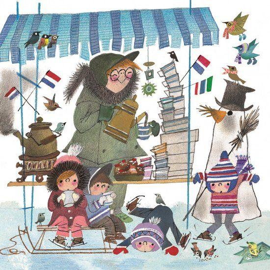 Puzzelman Fiep Westendorp Legpuzzel 'Winter met Koek & Sopie' (210 stukjes)