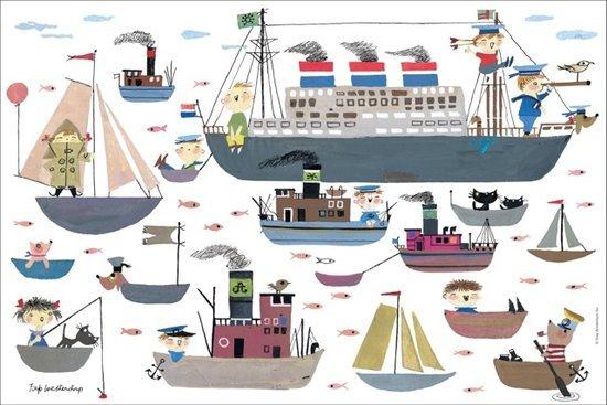 Puzzelman Fiep Westendorp Puzzel 'Bootje varen' (99 stukjes)