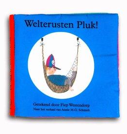 Querido Welterusten Pluk! fabric book - Annie M.G. Schmidt