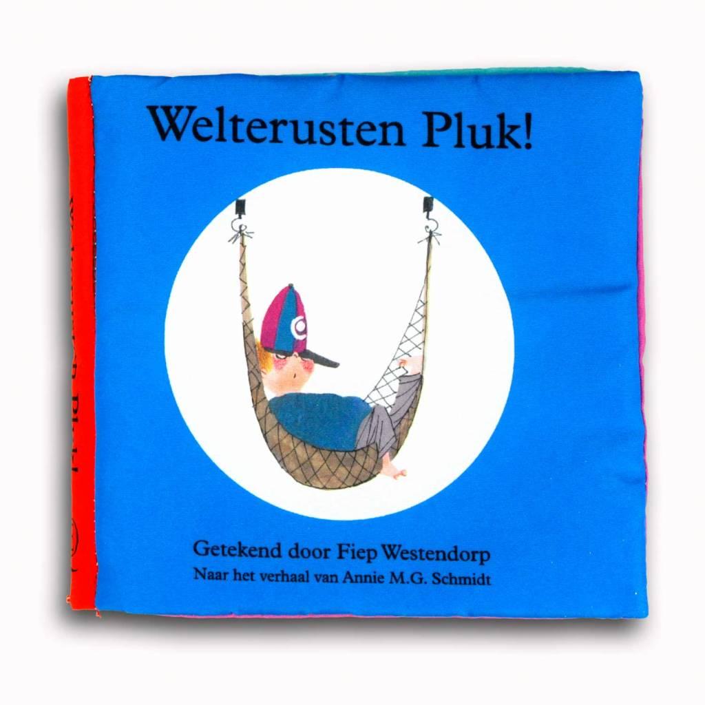 Querido Welterusten Pluk! stofboekje - Annie M.G. Schmidt