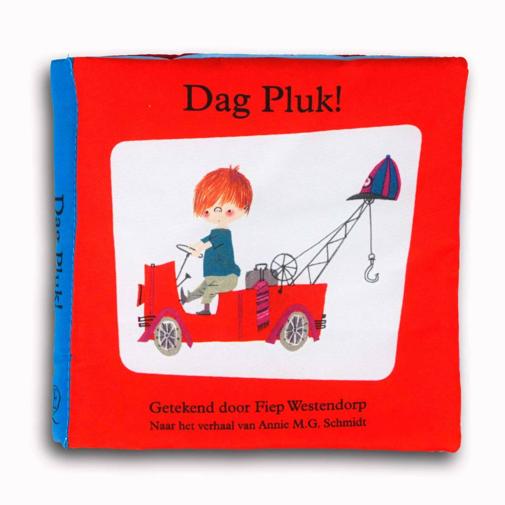 Querido Dag Pluk! stofboekje - Fiep Westendorp