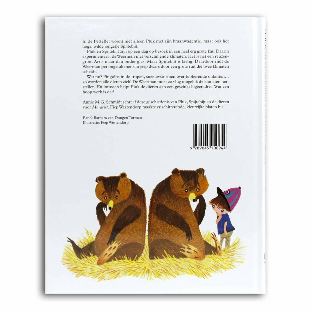 Querido Pluk redt de dieren, hardcover