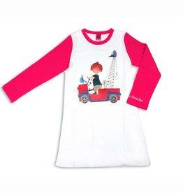 Nachtjapon / Pyjama 'De Rode Kraanwagen'