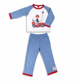 Fiep Amsterdam BV Boys' Pyjama 'The Red Tow Truck'