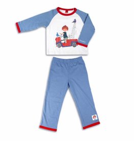 Fiep Amsterdam BV Boys' Pyjamas 'The Red Tow Truck'