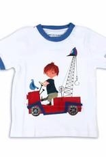Fiep Amsterdam BV T-Shirt 'De Rode Kraanwagen'