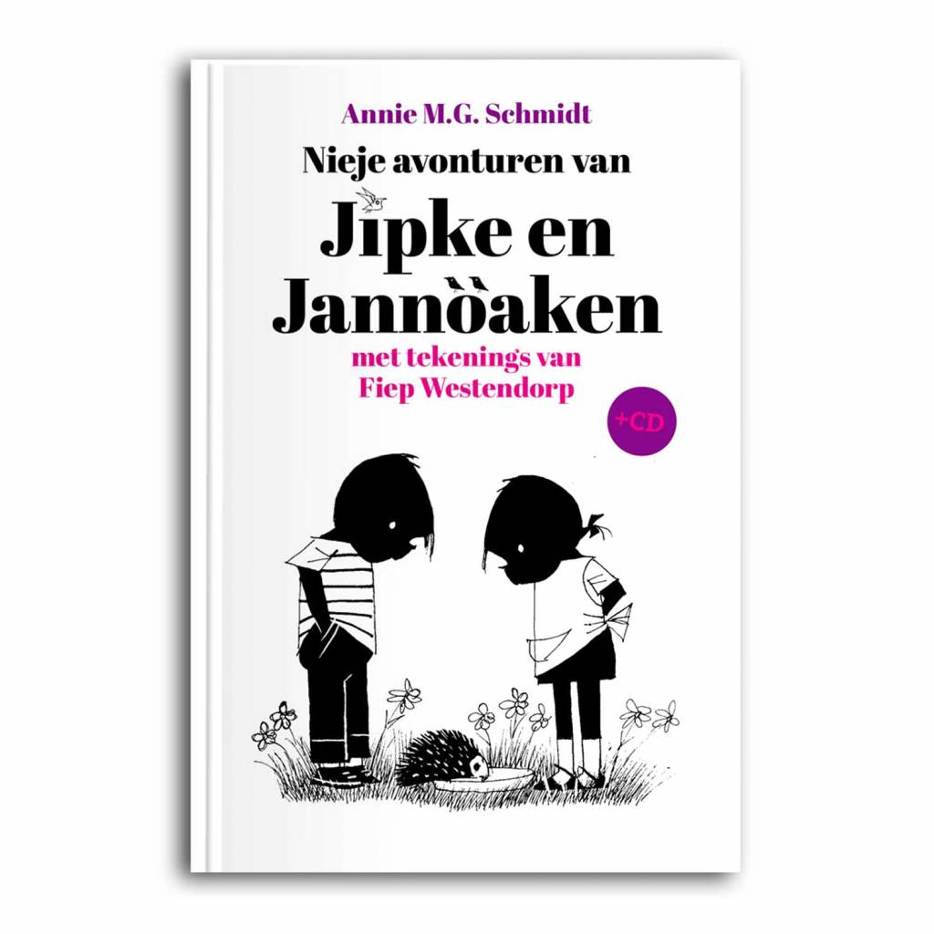 Uitgeverij Twentse Media Jipke en Jannöaken (including CD) - Annie M.G. Schmidt