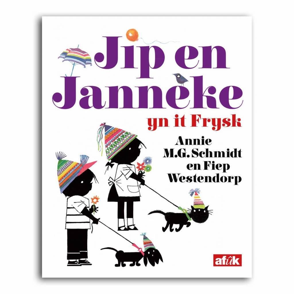 Afuk Jip and Janneke: yn it Frysk (language of Friesland)- Annie M.G. Schmidt