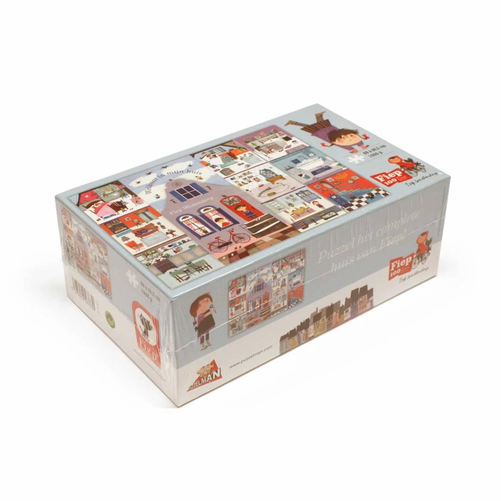 Puzzelman Puzzel: Het Huis van Fiep, Fiep Westendorp, groot 1000 stukjes
