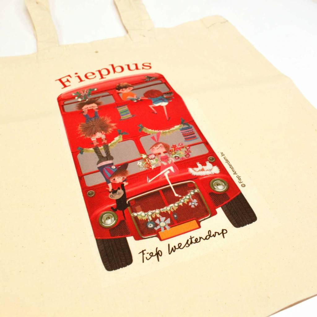 Fiep Amsterdam BV Linen bag 'Fiepbus'
