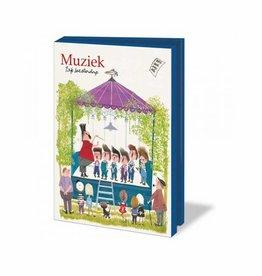 Bekking & Blitz Ansichtkaartenmapje, Muziek