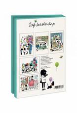 Bekking & Blitz Card Wallet, Jip and Janneke, Party - Fiep Westendorp
