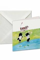 Bekking & Blitz Card Wallet, Jip and Janneke, Flowers - Fiep Westendorp