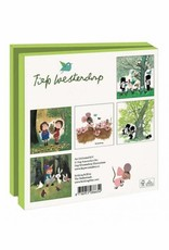 Bekking & Blitz Card Wallet, Forest and Farm Animals - Fiep Westendorp