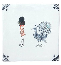 StoryTiles Fiep Westendorp Tile 'Oh dear, you look dashing!'