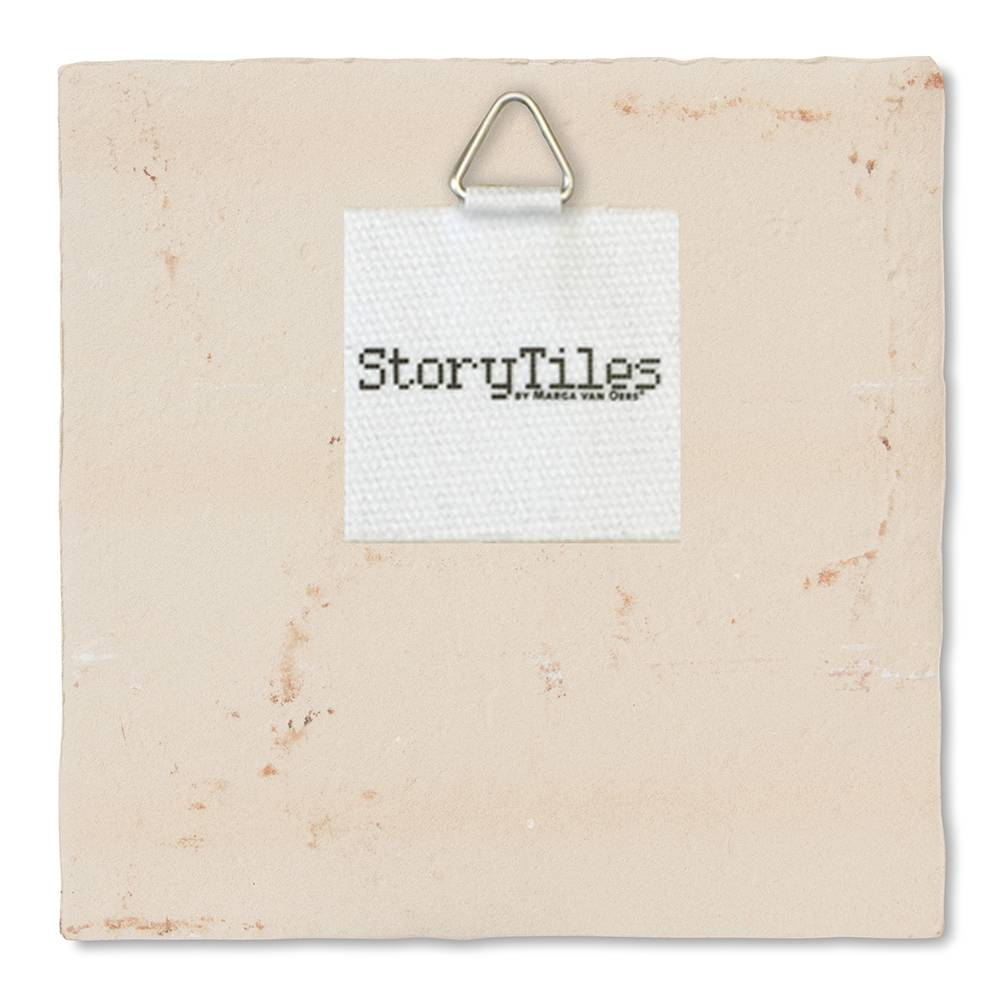 StoryTiles Fiep Westendorp Tegel 'Hieperdepiep Hoera'