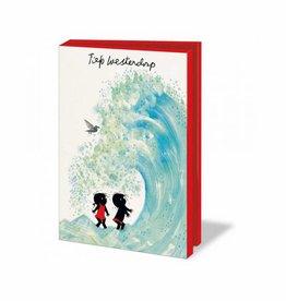 Bekking & Blitz Card Wallet, Jip en Janneke,Water - Fiep Westendorp