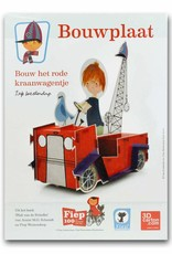 Rubinstein Paper Toy 'The Red Tow Truck'