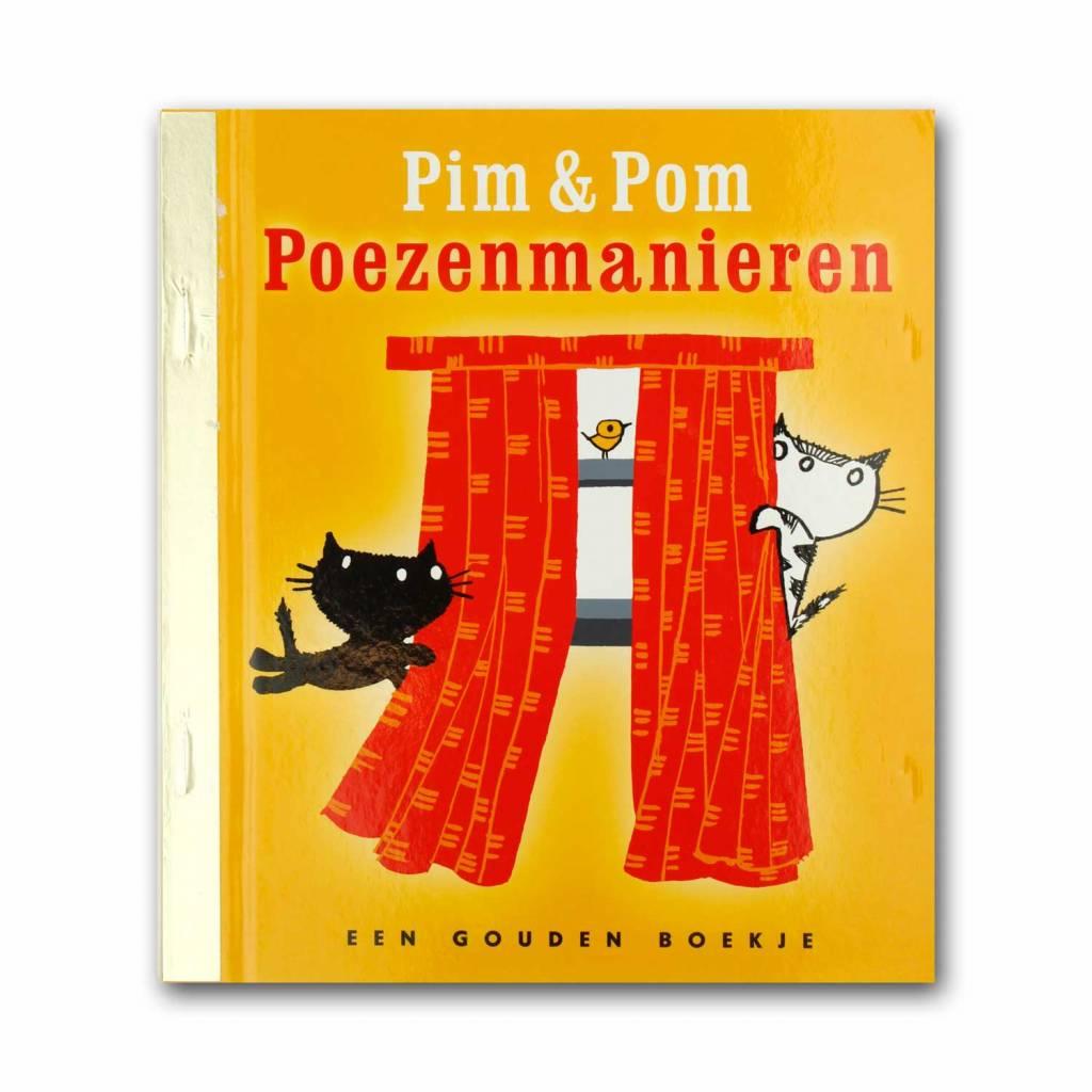 Rubinstein Golden Book - Pim en Pom Poezenmanieren - Mies Bouhuys