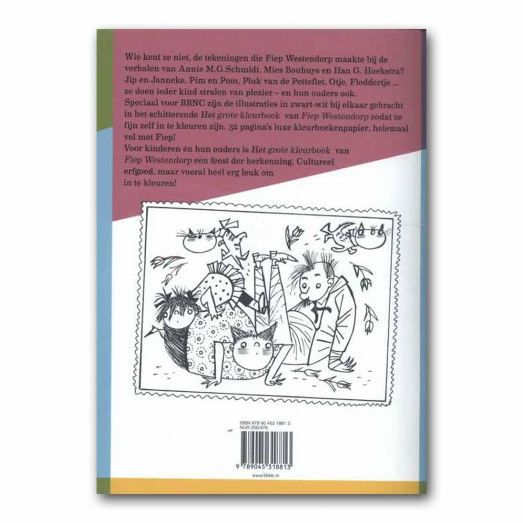 BBNC The Fiep Westendorp Coloring Book, softcover