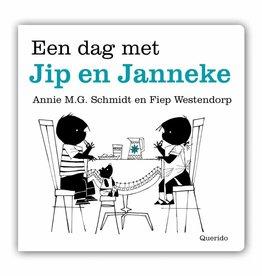 Querido Een dag met Jip en Janneke, kartonnen boekje