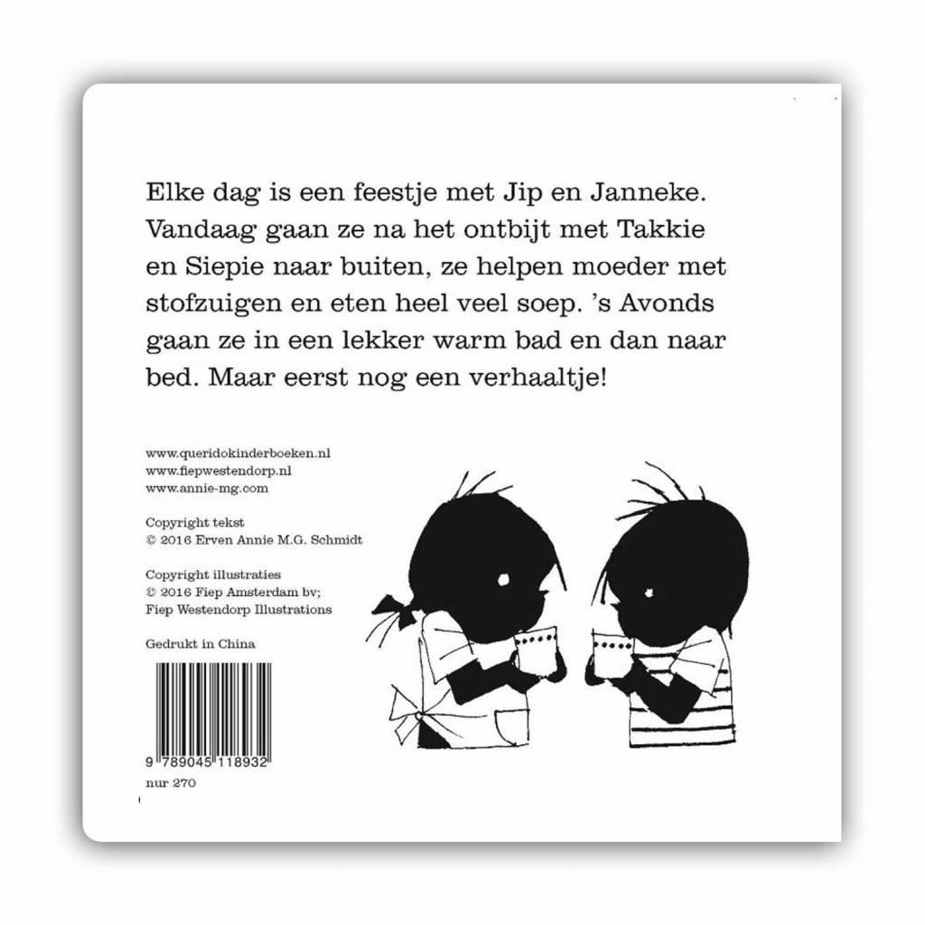 Querido Jip & Janneke carton book  in Dutch - Annie M.G. Schmidt & Fiep Westendorp