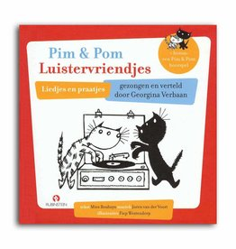 Rubinstein Pim en Pom Luistervriendjes (boek met CD)