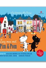 Rubinstein Zing Mee Met Pim & Pom (Dutch book with CD) - Mies Bouhuys