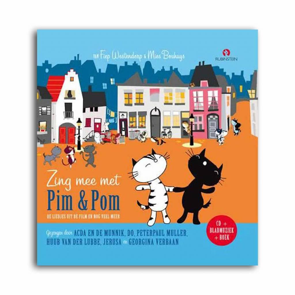 Rubinstein Zing Mee Met Pim & Pom (boek met CD) - Mies Bouhuys