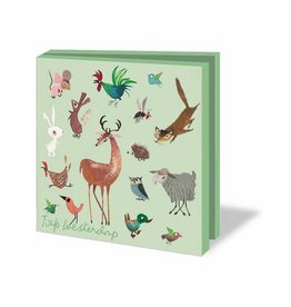 Bekking & Blitz Card Wallet, Animals - Fiep Westendorp