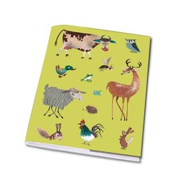 Bekking & Blitz Notebook, Animals - Fiep Westendorp