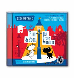 Fiep Amsterdam BV Muziek CD 'Pim & Pom, Het Grote Avontuur'