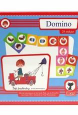 Bambolino Dominospel 'De Rode Kraanwagen'