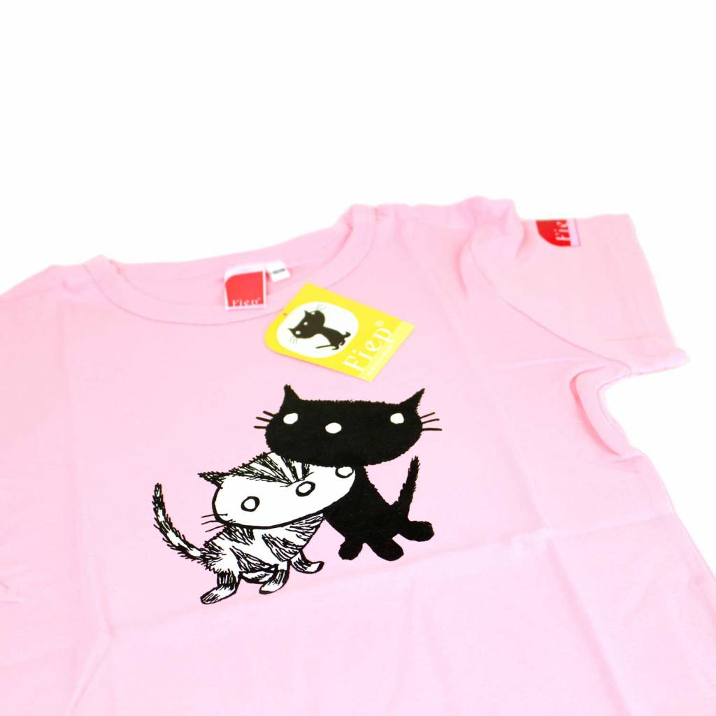 Fiep Amsterdam BV T-Shirt Pim and Pom, pink