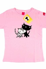 Fiep Amsterdam BV T-Shirt Pim and Pom, pink - Mies Bouhuys & Fiep Westendorp
