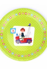 Fiep Amsterdam BV 'The Red Tow Truck' Paper Plates