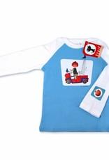 Fiep Amsterdam BV Longsleeve T-Shirt 'De Rode Kraanwagen' - Fiep Westendorp