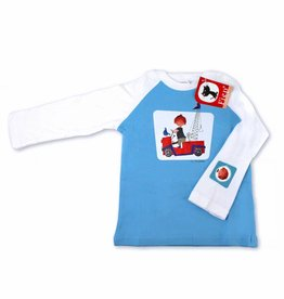 Fiep Amsterdam BV Longsleeve T-Shirt 'The Red Tow Truck'