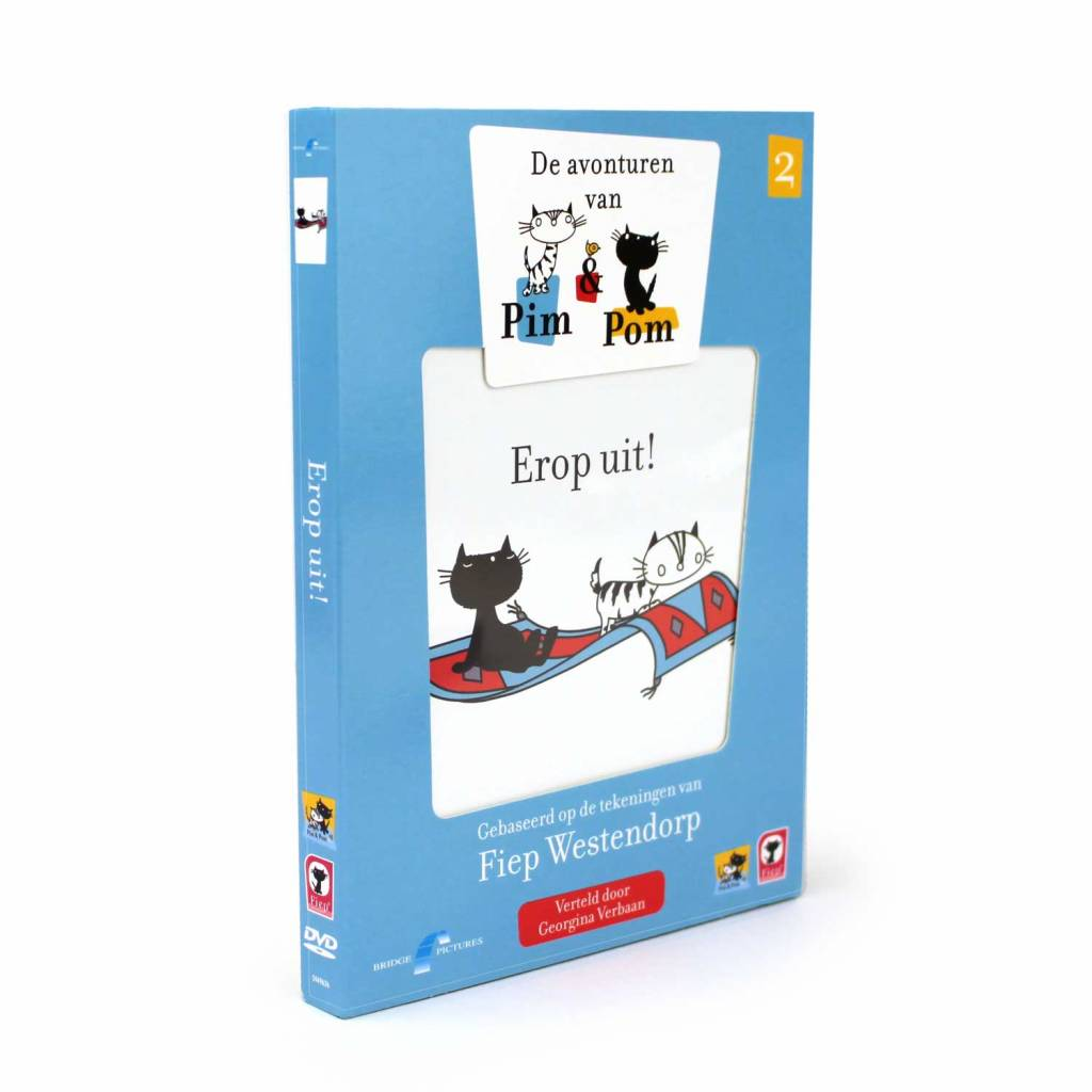 Fiep Amsterdam BV DVD - Pim en Pom Deel 2: 'Erop uit!'