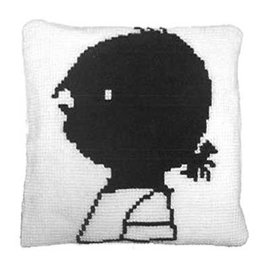 Handwerkpakketten Cross-stitch Set 'Janneke' Cushion