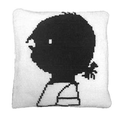 Handwerkpakketten Cross-stitch Set 'Janneke' Cushion - Fiep Westendorp