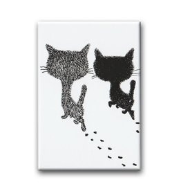 Bekking & Blitz Pim and Pom walking, Fridge Magnet
