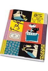 Bekking & Blitz Notebook A5 'Colourful  Fifties' - Fiep Westendorp