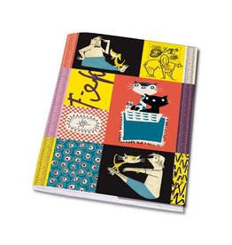 Bekking & Blitz Notebook A5 'Colourful  Fifties'