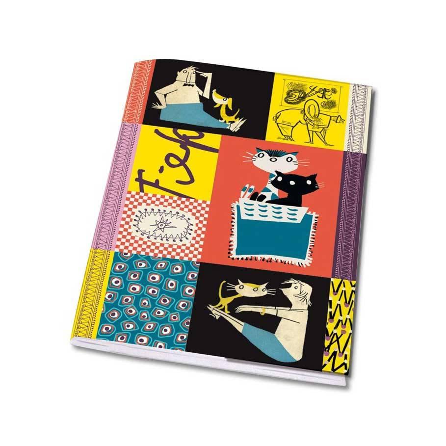 Bekking & Blitz Schriftje A5 'Colourful  Fifties' - Fiep Westendorp