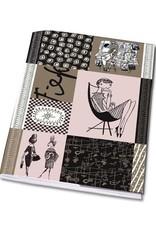 Bekking & Blitz Notebook A5 'Graphite' - Fiep Westendorp