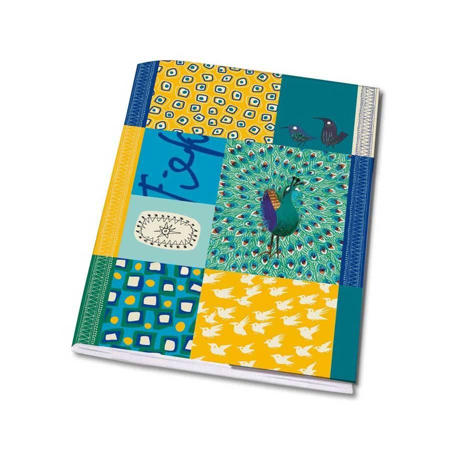 Bekking & Blitz Notebook, A5 'Peacock' - Fiep Westendorp