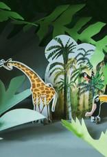Studio Roof Pop-Out Card: 'Jungle Giraffe'